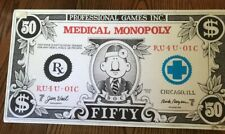 MONOPOLY Vintage 1979 Medical Monopoly Doctor Board Game. FACTORY SEALED! NEW!!
