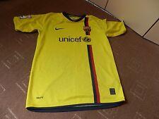BARCELONA FC AWAY SHIRT 2008-2009 SEASON - BOYS XL 158-170 (13-15 YRS) VGC
