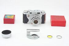 CLA'd Konica II rangefinder w/ Hexanon 50mm F2.8 + closeup lens from Japan m003