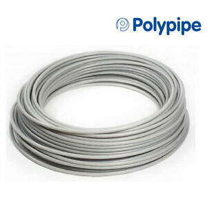 Polypipe 15mm/18mm Plastic Flexible Underfloor Heating Pipe 50m 100m 120m 150m
