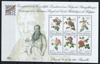 Belgio 1990 Mi. Bl.61 Foglietto 100% Nuovo ** Specie di rose