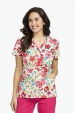 "{LG} Women's Peaches Suzie Printed Scrub Top ""Blossom Pop"" (4796BLSP)"