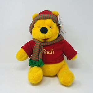 Kohls Special Edition Holiday Winnie the Pooh Plush
