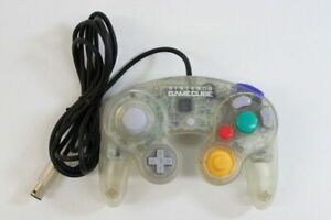 Official OEM Nintendo GameCube Controller Clear Japan Fast Shipping USA smash