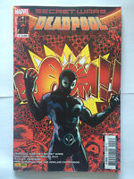 PANINI COMICS MARVEL SECRET WARS DEADPOOL N°3 MARS 2016 NEUF