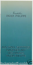 Original Description Patek Philippe Jumbo Nautilus 3700 - 1970er J. - 8 pages