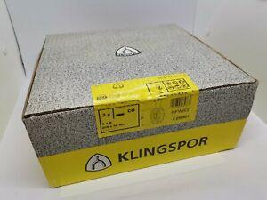 Klingspor Flap wheel 200X50mm pack of 2 Grain coarse NFW600 metal and inox