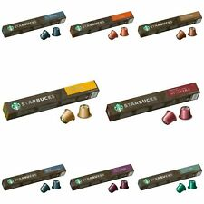 NEW Original Nespresso Starbucks Coffee 10 Capsules/Pods