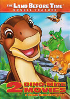 THE LAND BEFORE TIME - 2 DINO MOVIES (DOUBLE FEATURE) (BILINGUAL) (DVD)