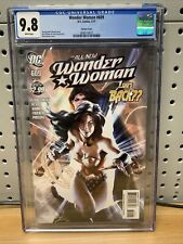 Wonder Woman 609 CGC Graded 9.8 Alex Garner Variant DC Comics 2011