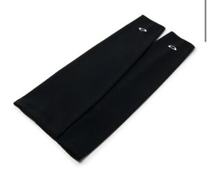 New Oakley Thermal Leg Warmers Sleeve Cycling Riding Winter Skiing Black Small
