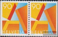 Schweiz 1563yDl/Dr waagerechtes Paar postfrisch 1995 Freimarke