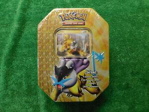 2010 Pokemon Shiny Raikou Tin / Vintage / Factory Sealed