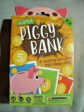 Piggy Bank Children's Counting Card Game,Hoyle,ages 4-6,educational fun,kids