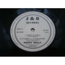 """7"""" 45RPM Flight Of Earls/O' Connell's Steam Engine/Sally Gardens/Snowny Breasted"""
