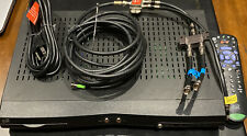 Dish 322 Receiver Dual-Tv Satellite with 1 Remote + Uhf Antenna + Connections