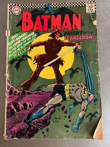 Batman Fright Of The Scarecrow! 1967 Feb No. 189 DC Comics