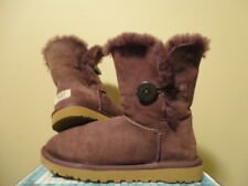 Ugg Bailey Button  Dark Purple, Size 8