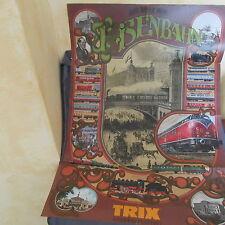 712B Pieghevole Trix 1979 Minitrix 16 pagine 21 X 29,7 CM