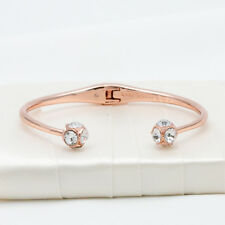 Kate Spade Lady Marmalade Rose Gold Open Cuff Bracelet NEW