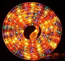 """Flexilight® Multi-Color Rope Light 300Ft 110V 120V 2-Wire 1/2"""" Incandescent Bulb"""