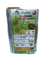 SmartGARAGE - Reflective Garage Door Insulation Kit  - 9'W x 7'H  - White.