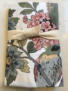 Pottery Barn Bloom Floral Cotton King Sham NEW
