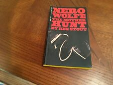 NERO WOLFE THE MOTHER HUNT BY REX STOUT PAPERBACK BOOK BANTAM S6729