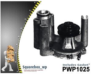 Water Pump PWP1025 fits MITSUBISHI Magna TR 2.6L SOHC 4G54 1986 - 97