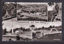 A796 AK. Albbruck mit Albtal. 5 Ansichten. Albtalstrasse, Total, Evgl. Kirche, S