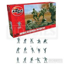 Airfix A00705 WWII German Infantry 1 72 Figures Model Kit