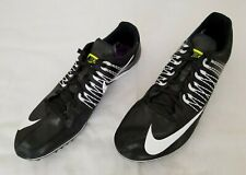 Mens Sz 14 Black White Nike Zoom Celar 5 Track and Field Spikes Shoes 629226-017