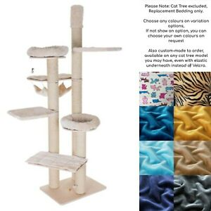 ANY COLOURS Cat Tree Scratching Post Replacement Bed for Natural Paradise XXL