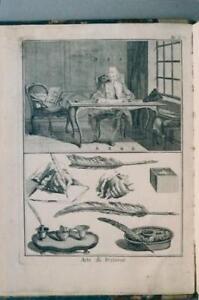 L'ARTE DI SCRIVERE tratta dal Dizionario d¿Arti e Mestieri dell¿Enciclopedia....