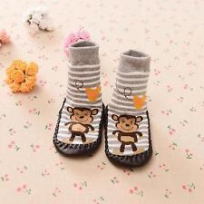 cartone animato bambini bimbo anti-scivolo Calze Scarpe Stivali slipper