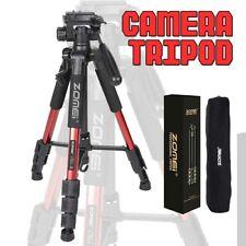Camera Tripod & Pan Head Aluminum For SLR DSLR Digital Three Color Professional