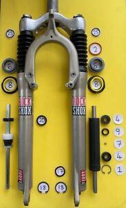 Rock Shox Judy SL/DH/XC/FSX Damper Seal / Suspension Service Parts / 28mm + Foam
