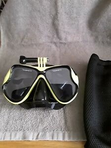 Diving Goggles with attachment for GoPro