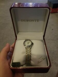 Women's Dufonte Lucien Piccard Wrist Watch New condition, no battery