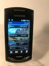Samsung Monte S5620-Negro (Naranja Red) Teléfono Inteligente Móvil