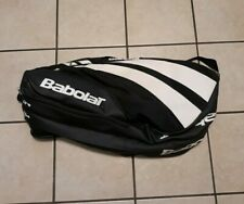Babolat Classic Line Double Strap 12 Racket Racquet Tennis Bag Black/White 29x15