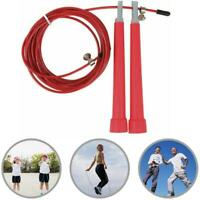 Steel Wire Speed Skipping Jump Rope Adjustable Crossfit Fitnesss Exercise Sports