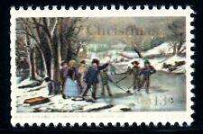 EFO 1701 SEVERE INK STARVATION OF LETTERING -- 13c CHRISTMAS