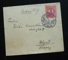 Hungary 1897 Cover Sent To Belgrade Serbia  C1