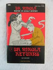 Guy Boothby DR. NIKOLA RETURNS Master of Occult Mystery #2 Newcastle 1976
