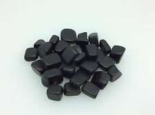 Extra Small Natural Finish Jet  (1) One Stone of Protection Healing Metaphysical