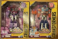 Large Scale Transformers Cyberverse Optimus Prime Decepticon Shockwave LOT LOOK!