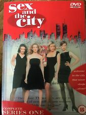 sarah jessica parker kim cattrall Sex & THE CITY SAISON 1 ~ HBO SÉRIE GB DVD