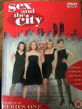 Sarah Jessica Parker Kim Cattrall SEX & The City Temporada 1 ~ HBO Series GB DVD