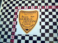 Italian Vespa Piaggio Roller Händler Aufkleber - Adesivo Autokühler Aufkleber